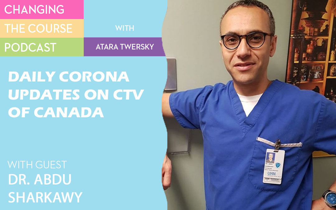 Dr. Abdu Sharkawy, who appears with corona updates on CTV of Canada